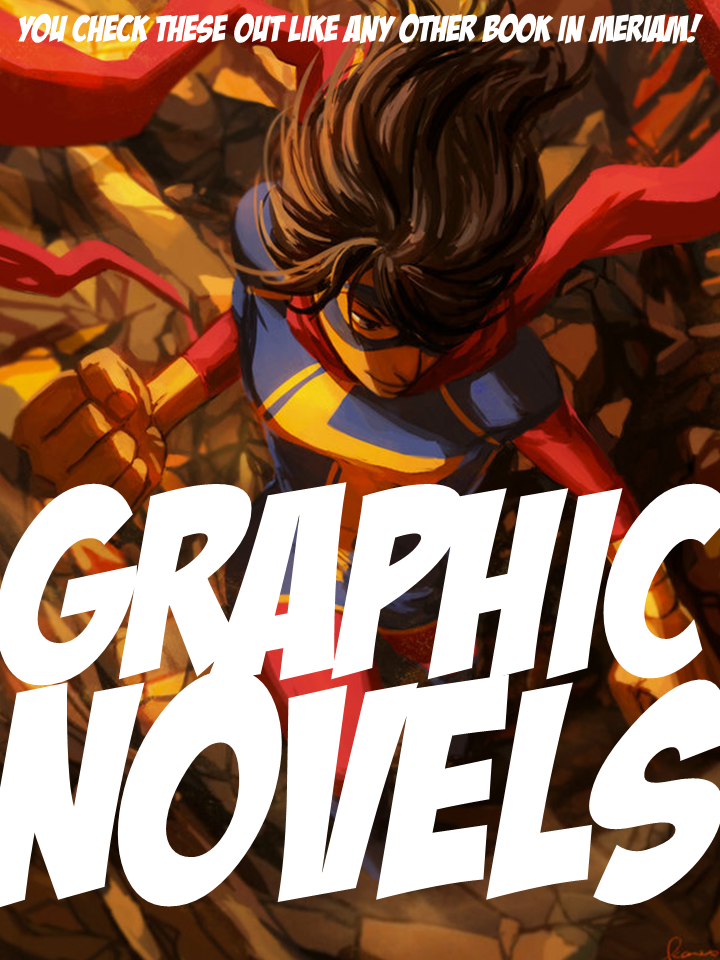 Graphic Novels now on 2nd Floor
