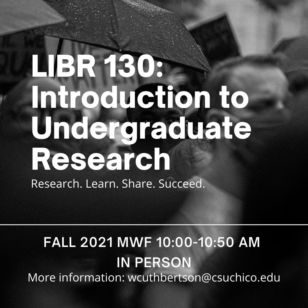 LIBR course information