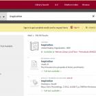 A screenshot of OneSearch