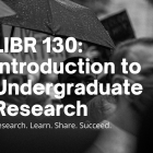 Apply for an Introduction to Undergraduate Research