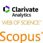 Scopus and Web of Science logos