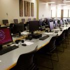 Photo of the 4th floor computer lab