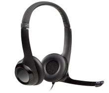 Photo of logitech headset with microphone