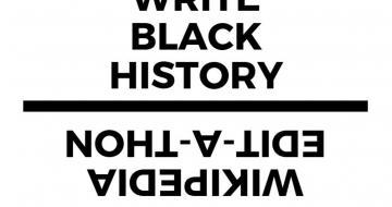 Black History Month wiki flyer