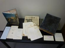 Photo of archival materials