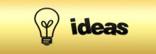 Lightbulb illustration, Ideas