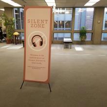 Third floor silent floor sign
