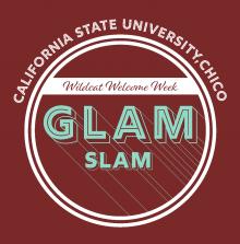 GLAM SLAM poster