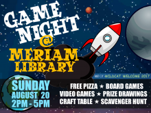 Game Night at Meriam