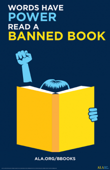 Words have power, read a banned book