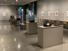 photo of Turner installation