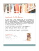 Academic Article Workshop Flyer