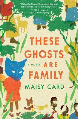 Book: these ghosts are family, colorful